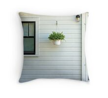 ..cottage for rent.. Throw Pillow