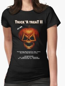 Trick 'r Treat II Poster Womens Fitted T-Shirt
