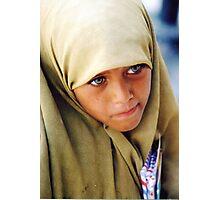 Muslim Green Eyed Giza Girl  Photographic Print