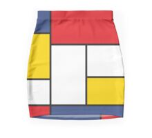 In the Style of Mondrian Pencil Skirt
