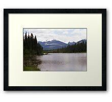 La Salle Lake & Hammer Mountain aka Boulder Mountain Framed Print