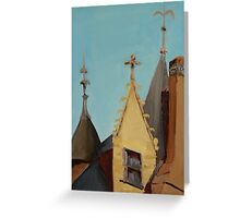 Montreil-Bellay Chateau Greeting Card
