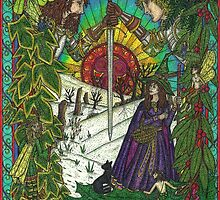 New, Yule Card, 2011 by CherrieB