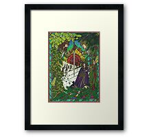 New, Yule Card, 2011 Framed Print