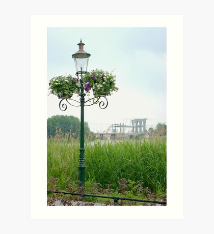 View on the River Vecht  Art Print