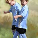 Soccer Buddies by Heather Rinehart