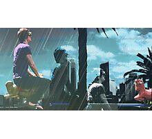 Citys sunray's fun Photographic Print