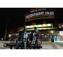 Mercer County Waterfront Park at Night Photographic Print