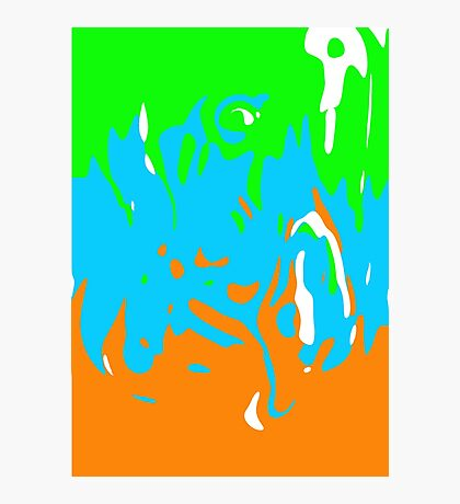 Colourful mess Photographic Print