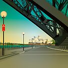 Under the bridge by Lara Allport