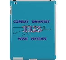 11Bravo - Combat Infantry - WWII Veteran iPad Case/Skin
