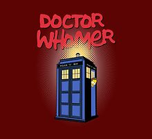 DOCTOR WHOMER by karmadesigner