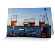 Tchin! Greeting Card