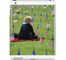 Veterans Memorial Cemetery iPad Case/Skin