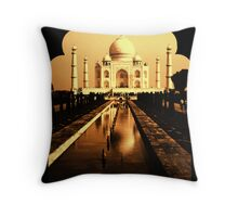 MAJESTIC MONUMENT Throw Pillow