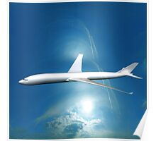 Dream Liner in the Sky Poster
