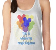 This is where the magic happens! Women's Tank Top