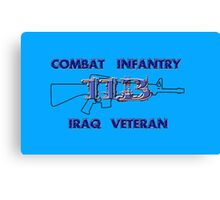 11Bravo - Combat Infantry - Iraq Veteran Canvas Print