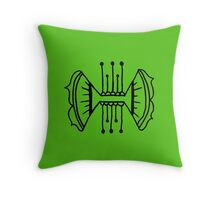 Seed inverse © feathers & eggshells - wild new things are born Throw Pillow