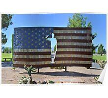 U.S. Flag Poster