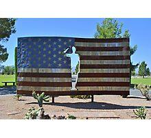 U.S. Flag Photographic Print