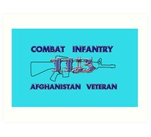 11Bravo - Combat Infantry - Afghanistan Veteran Art Print