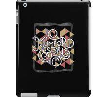 Mumford & son iPad Case/Skin