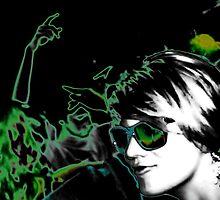 Green dream disco by George  Kaye