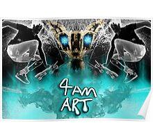 4am art Poster