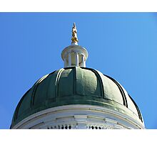 Augusta State House Photographic Print