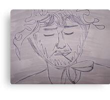 Simon as Little Bo-Peep Canvas Print