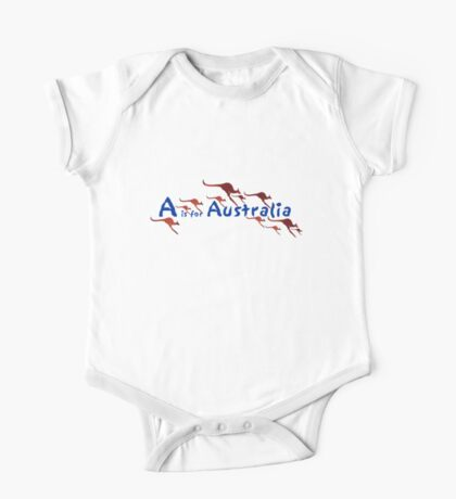 A is for Australia One Piece - Short Sleeve