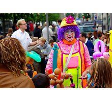 Enter The Clown Photographic Print