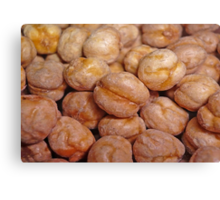 Chickpeas Canvas Print