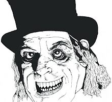 Lon Chaney London after Midnight  by ChatsbyVictoria
