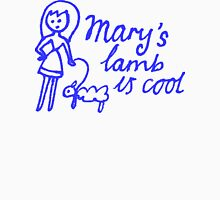 Mary's Lamb is Cool Womens Fitted T-Shirt