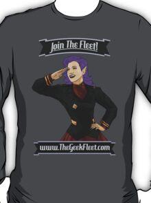 Join The Geek Fleet! T-Shirt