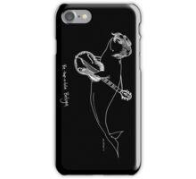 Bebopbeluga - Black iPhone Case/Skin