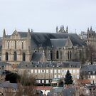 Poitiers from Les Dunes by Pamela Jayne Smith