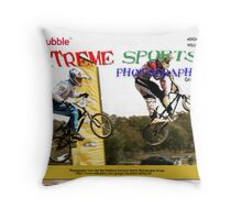 Extreme Sports Photography Group eMagazine Cover Throw Pillow