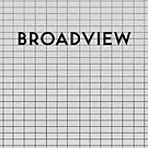 BROADVIEW Subway Station by Daniel McLaren