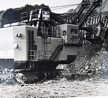 180 ruston bucyrus face shovel by TudorSaxon