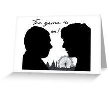 The game is on! Greeting Card