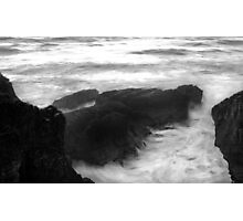Angry sea Photographic Print