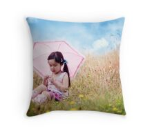 these moments, when our hearts are conscious of our treasures... Throw Pillow