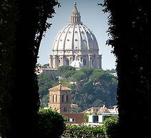 Aventine keyhole, Rome by CliveHarris