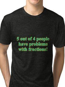 GENIUS SHIRT Tri-blend T-Shirt