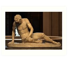 The Dying Gaul - National Gallery of Art - Washington D.C. - Plate No. I  Art Print