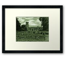 St Mary Church - Sledmere - East Yorks Framed Print