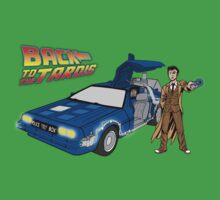 Back to the Future on Tardis with Doctor Who  by Silvanust
